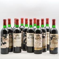 Chateau Leoville Las Cases 1978, 12 bottles (owc)