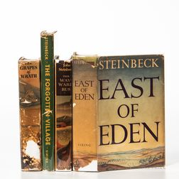 Steinbeck, John (1902-1968) Four First Edition Works.