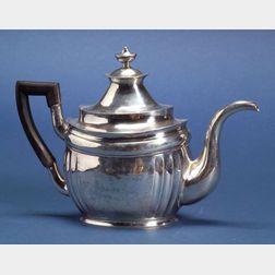 American Federal Coin Silver Teapot
