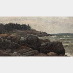 Attributed to George Savary Wasson (American, 1855-1926)    Maine Seacoast