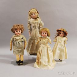 Four German Dolls