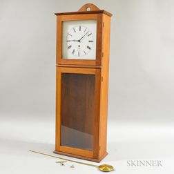 Thomas Moser Shaker-style Cherry Wall Clock