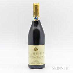 Clarendon Hill Vineyard Blewitt Spring Old Vines Grenache 1996, 1 bottle