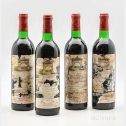 Chateau Leoville Las Cases 1978, 4 bottles