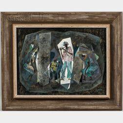 Herman Newhauser (American, 1914-1970)      Voodoo