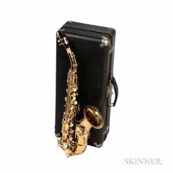 Soprano Saxophone, C.G. Conn Wonder Improved, 1916