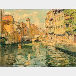 Lucien Hector Jonas (French, 1880-1947)      In Dordogne