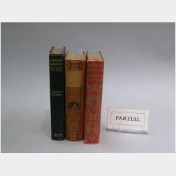 Group of Titles related to American History and Biography