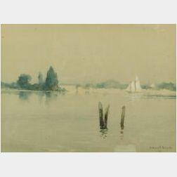 Henry Hobart Nichols (American, 1869-1962)  Quiet Harbor