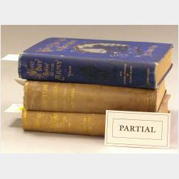 Group of Massachusetts State Histories, Atlases, Civil War Related Books,   Periodicals and a Miniature Set of Prose