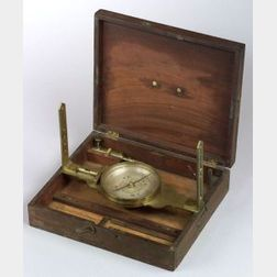 Brass Surveyor's Compass