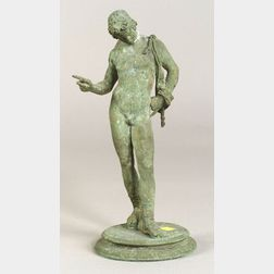 """""""Grand Tour"""" Patinated Bronze Figure of the Young Dionysus"""