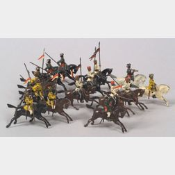 Britains Lead Soldiers Nos. 47, 66 and 115