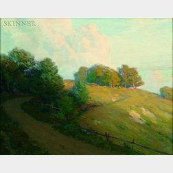 William Jurian Kaula (American, 1871-1953)    Sunny Hillside