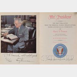 (Truman, Harry (1884-1972)), Presentation Copy