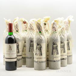 Chateau Latour 1978, 11 bottles