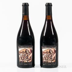 Ken Wright Cellars Pinot Noir Abby Ridge Vineyard 2000, 2 bottles