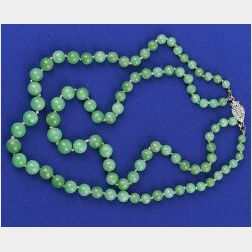 Double Strand of Jadeite Jade Beads