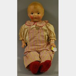 Composition Shoulder Head Doll