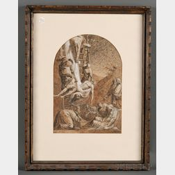Italian School, 18th/19th Century      The Deposition from the Cross.