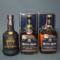 Mixed Scotch, 1 700ml bottle 2 4/5 quart bottles