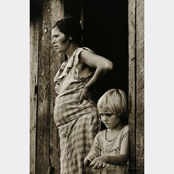 Arthur Rothstein (American, 1915-1985)      Sharecropper's Wife and Child, Arkansas