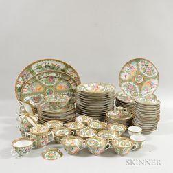 Large Group of Rose Medallion Porcelain Tableware.     Estimate $300-500