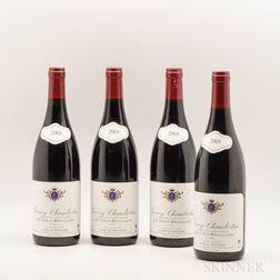 Andre de Mericourt Gevrey Chambertin Les Creux Brouillard 2005, 4 bottles
