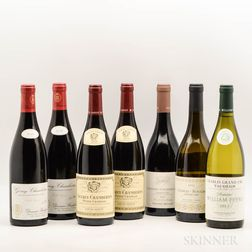 Mixed Burgundy, 7 bottles