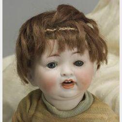 Hertel & Schwab Bisque Head Character Baby
