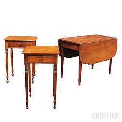 Three Pieces of Country Federal Furniture