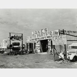 Arthur Rothstein (American, 1915-1985)      Highway 80, Fort Worth, Texas
