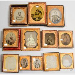 Twelve Early Photographs of Children