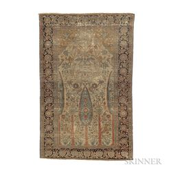 Mohtasham Kashan Prayer Rug