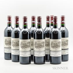 Chateau Lafite Rothschild 2004, 9 bottles