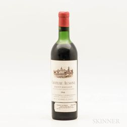 Chateau Ausone 1966, 1 bottle