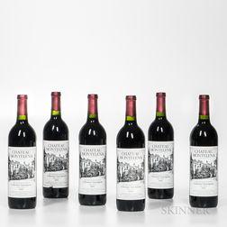 Chateau Montelena Cabernet Sauvignon Estate 1990, 6 bottles