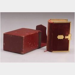 Diminutive English Velvet-bound Bible