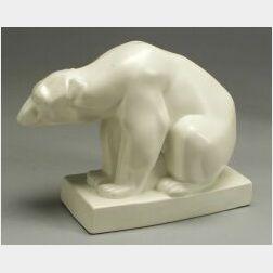 Wedgwood Skeaping Polar Bear