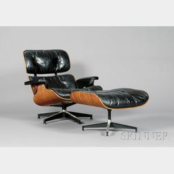 Charles Eames Lounge and Ottoman