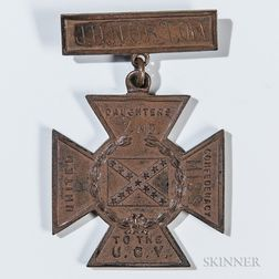 Identified Southern Cross of Honor Medal