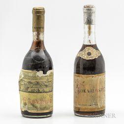 Mixed Tokaji Lot, 2 500ml bottles