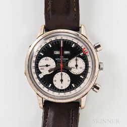 Wakmann Triple Calendar Chronograph Wristwatch
