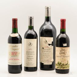 Mixed Vintage Napa Wines, 1 magnum3 bottles