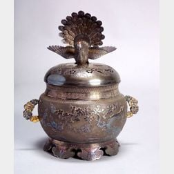 Silver Incense Burner