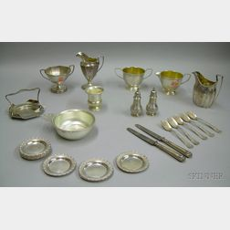 Twenty-eight Assorted Sterling Silver Articles
