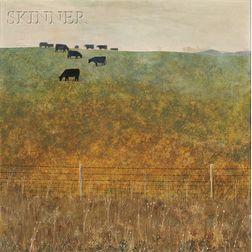 Arthur Oliver Biehl (American, b. 1926)      Pasture