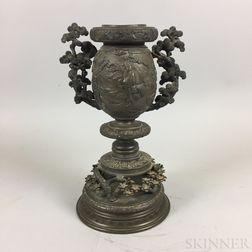Japanese Cast Bronze Censer