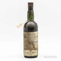 Cossart, Gordon & Co. (Averys) Malmsey Madeira Solera 1808, 1 bottle