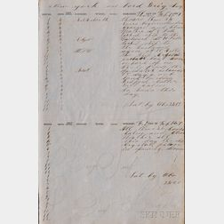 (Naval Log, 19th century)